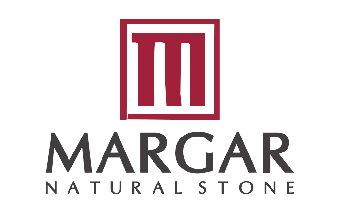 Margar Stone: Travertino Amarillo y mármoles Logo